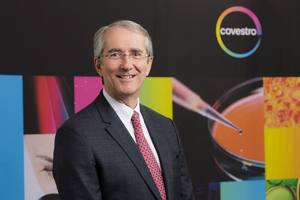 Patrick Thomas, CEO of covestro