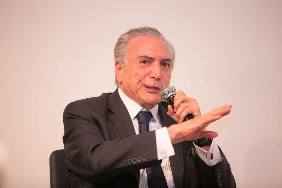 Vice-presidente Michel Temer