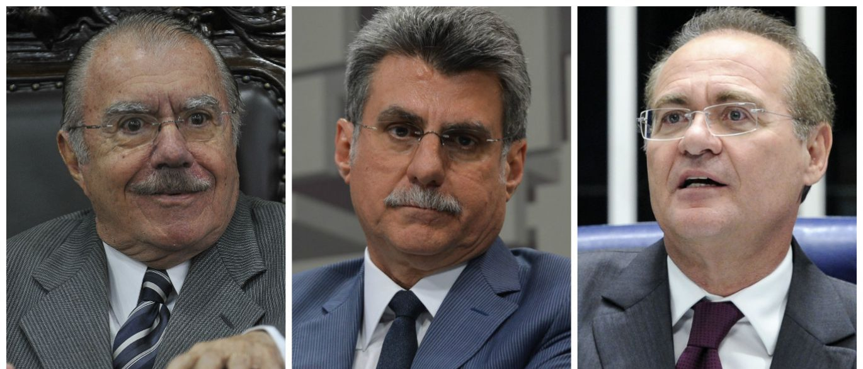Janot pede prisão de Sarney, Jucá e Renan